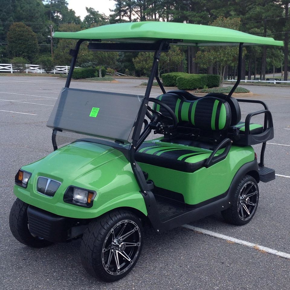 New Club Car Golf Cars At Race City Golf Cars