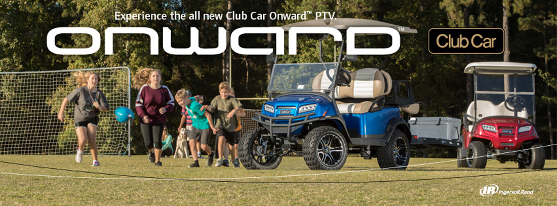 Experience the all new Club Car Onward!