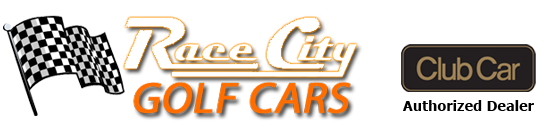 Race City Golf Cars – Golf car sales, service, repair and rental, Mooresville, NC. Retina Logo